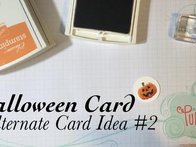 Alternate Card Idea #2: September 2016 Paper Pumpkin Kit Something Good to Eat