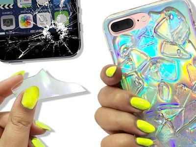 BROKEN GLASS Phone Case ♥ DIY
