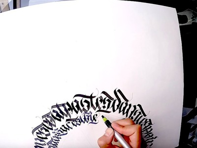 Calligraffiti sur papier.on paper Calligraphie - Calligraphy - Graffiti (auto-art)