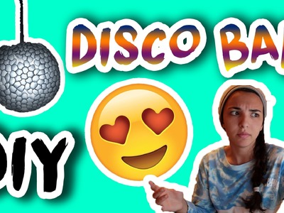 CRAZY DIY DISCO BALL!!!