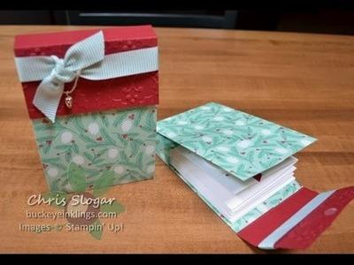 Designer Paper Note Card Folder