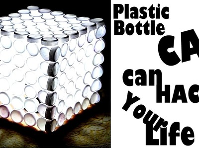 DIY 3 creative ways to reuse plastic bottles caps | Nifty | 5 Minute crafts