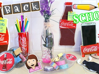 DIY BACK TO SCHOOL ROOM DECOR ITA COCA COLA! Collab.Iolanda Sweets | #DiyConNancy Nancy Joli Bijoux