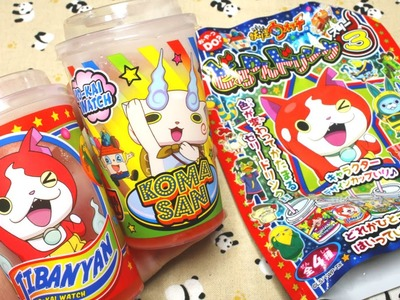 DIY CANDY! Yokai Watch Jelly Drink [Popin' Cookin']