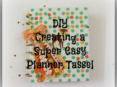 DIY Creating a Super Easy Planner Tassel