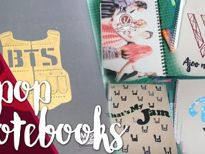 DIY: Customize your notebooks - K-POP. Back to school   K-freak  