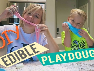 DIY EDIBLE PLAYDOUGH! (w. Ollie!)
