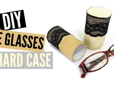 DIY Eye Glasses Case (Hard Shell w. Toilet Paper Roll)