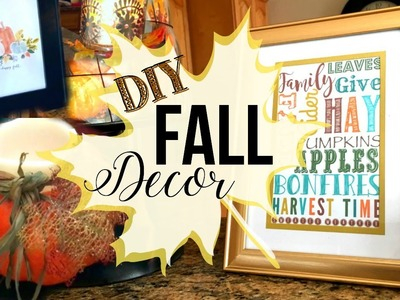 DIY FALL DECOR + MORE! 2016 | Page Danielle