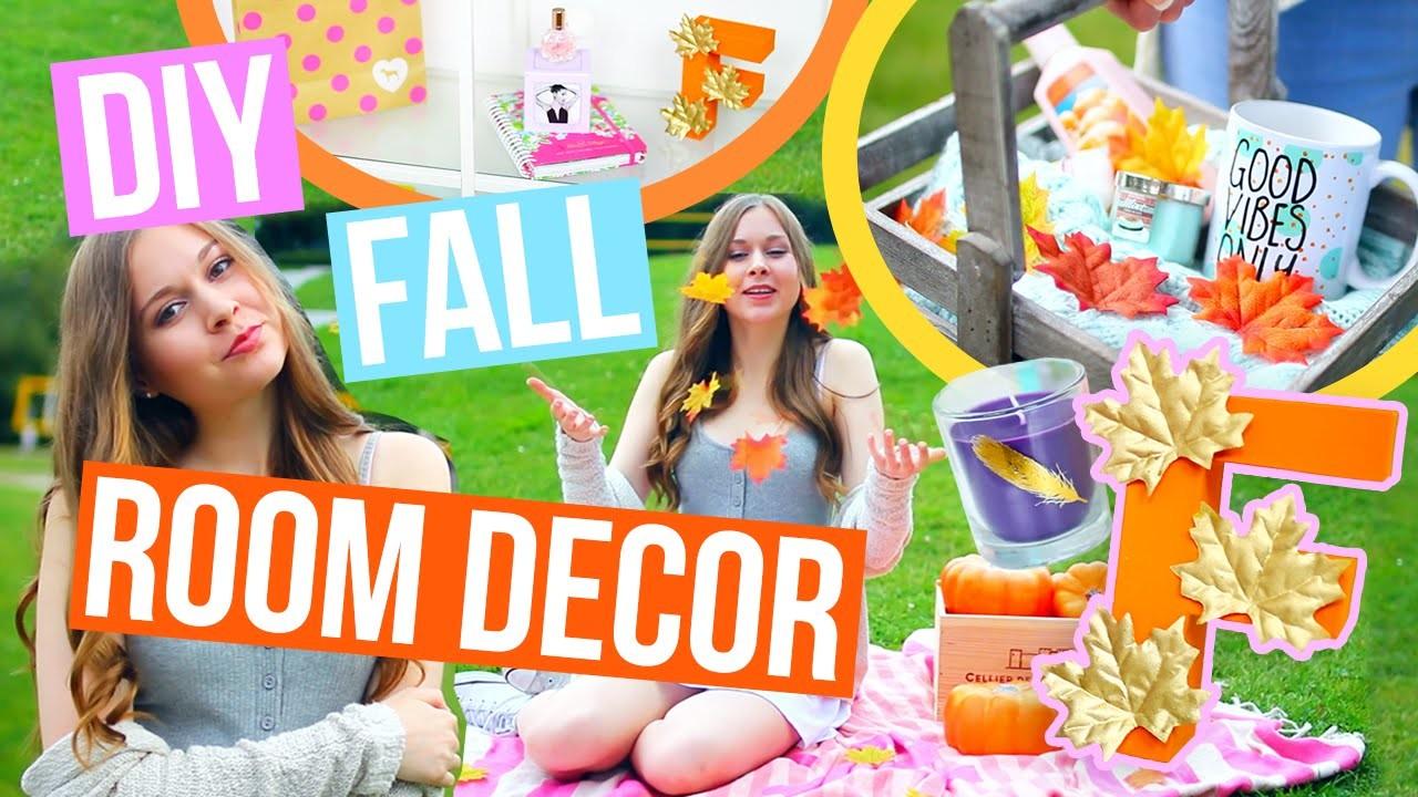 DIY Fall Room Decor 2016! Easy & Cheap DIYs To Make Your Room Cozy For Fall!!