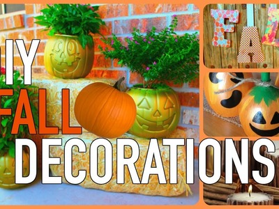 DIY FALL ROOM DECOR!! EASY AND CHEAP!
