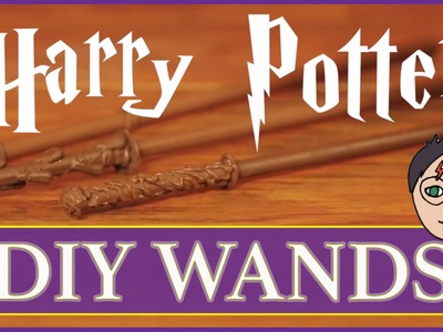 DIY Harry Potter Halloween WANDS