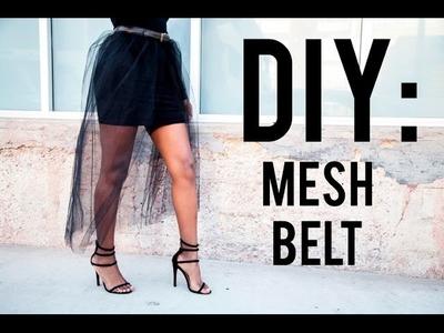 DIY: Mesh Belt.Skirt (EASY)