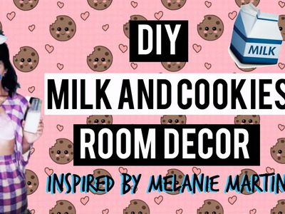 DIY Milk & Cookies Room Decor! Melanie Martinez Inspired!