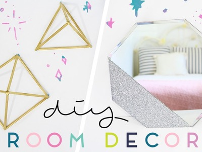 DIY Minimal Room Decor | Geometric Wall Art Ideas