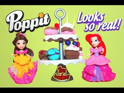 DIY Poppit Clay Mini Bakery  Creations | Toys Academy