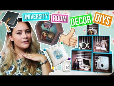 DIY Room Decor & Organisation for Uni.College