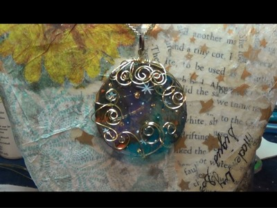 DIY Tumblr Necklaces  planet jewelry