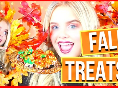 EASY & FUN DIY FALL TREATS!!! 2016