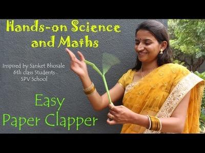EASY PAPER CLAPPER | Hindi