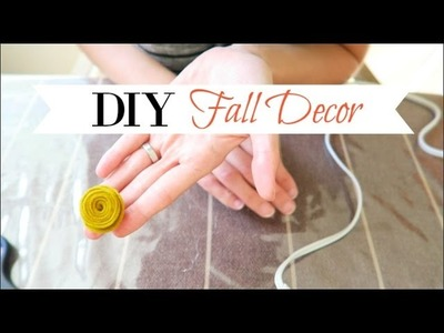 Fall Decor | DIY Week Collab: Felt