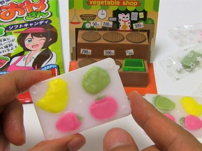 Fruit & Vegetable Shop Chewing Candy DIY Candy
