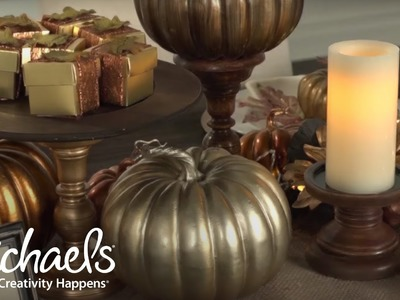 How To Create a Fall Tablescape | Michaels