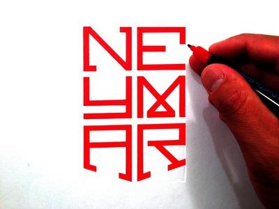 How to Draw The Neymar Jr. Nike Logo