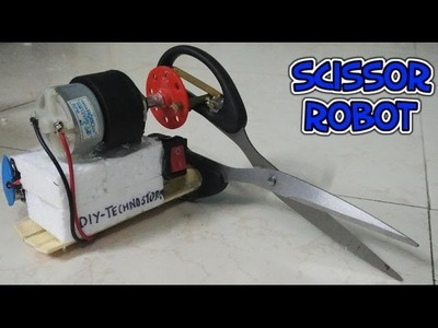 How to make a scissor robot