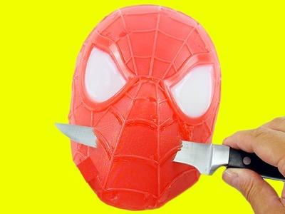 How to Make Spiderman Gummy Shape Fun & Easy DIY Superhero Jello Dessert!