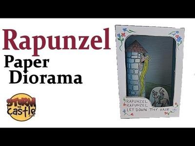 Make a Rapunzel Paper Diorama (Tatebanko)