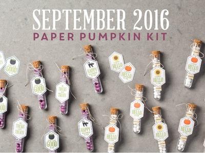 Paper Pumpkin September 2016