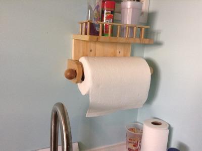 Paper Towel holder.