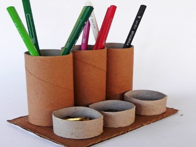 Paper Tube Holder | Best From Waste Material | Easy Step to Follow | By ASC Kids