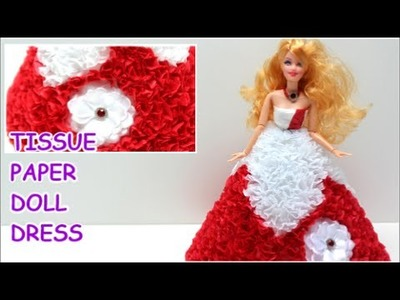 how to make doll dress at home