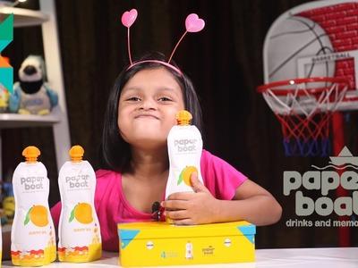 Quick Unboxing of Paper Boat Mango Juice Gift PacK : Paper Boat Drinks paperboat  rakshabandhan gift