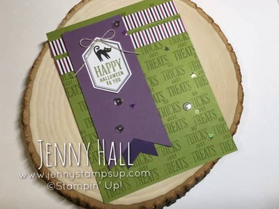 September 2016 Paper Pumpkin Alternative using Stampin' Up products with Jenny Hall