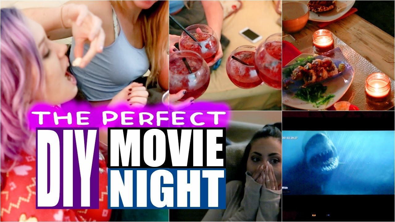 The Perfect DIY Fall Movie Night In!