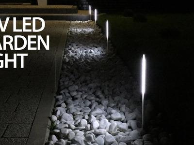 Cheap LED garden light that doesn't suck (12V DIY)