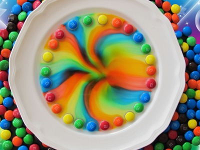 Cool M&M Candy Rainbow Effect by Creative World