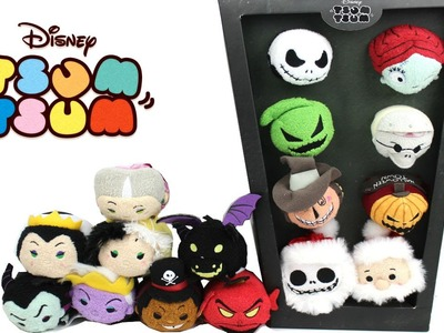 Disney Tsum Tsum - September 2016 -  Villains Collection and The Night Before Christmas Box Set
