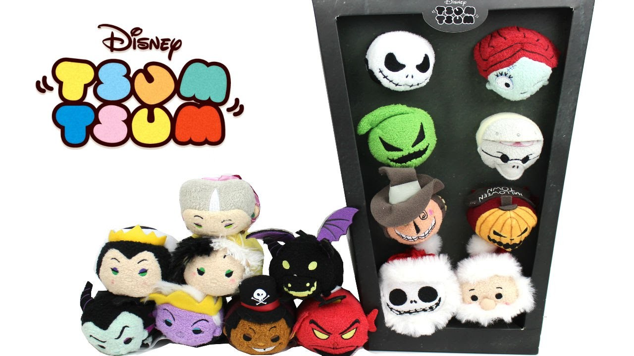 Disney Tsum Tsum - September 2016 - Villains Collection and The ...