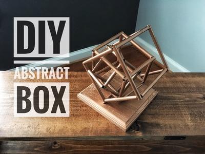 DIY   Abstract Box Figurine   Home Decor