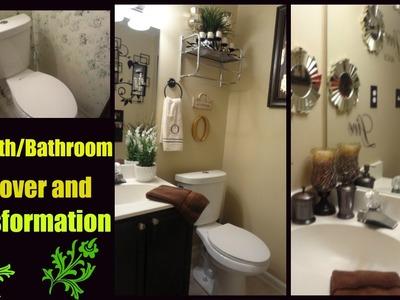 DIY Bathroom Decor Transformation and Makeover