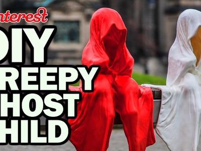 DIY CREEPY GHOST CHILD - Pinterest Test #99 - Man Vs Pin