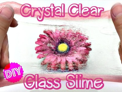 DIY CRYSTAL CLEAR GLASS SLIME, THINKING PUTTY! NO BORAX, LIQUID STARCH OR DETERGENT!