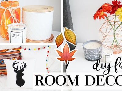 DIY Fall & Spring Room Decor -  DIY Room Makeover