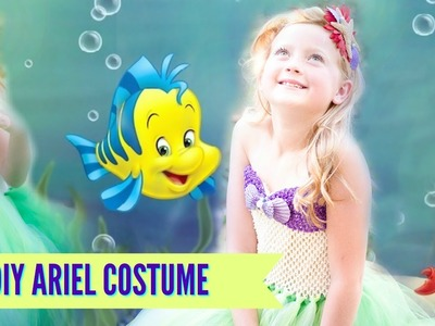 DIY Little Mermaid Ariel Tutu Costume NO SEW