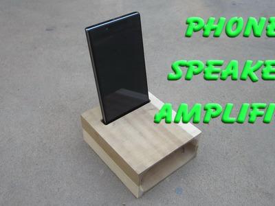 DIY - Making a phone speaker amplifier
