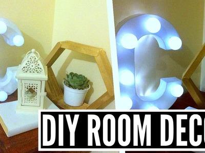 DIY Tumblr Room Decor | Bedside Table Decor